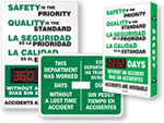 Bilingual Safety Scoreboards