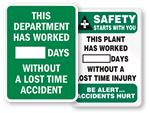 Mark-a-Day™ Safety Scoreboards