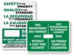 Bilingual Safety Scoreboards