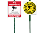 Security Yard Signs