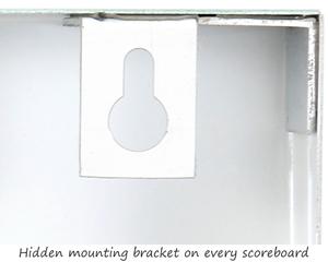 Safety scoreboard mounting