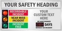 Custom Big Job Safety Scoreboard