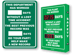 Previous Record Safety Scoreboards