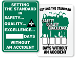 Safety, Quality, Excellence Scoreboards