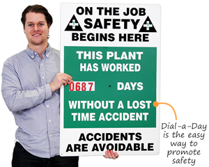 Dial-a-day safety scoreboard