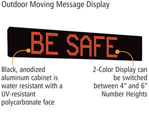 Outdoor Moving Message Displays