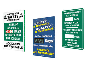Safe Driver Scoreboards