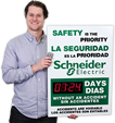 Custom Bilingual Safety Scoreboards