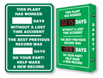 Plant Safety Scoreboards