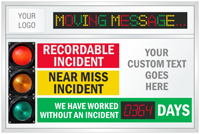 Custom Big Job Safety Scoreboard