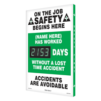 Custom Job Safety Scoreboard