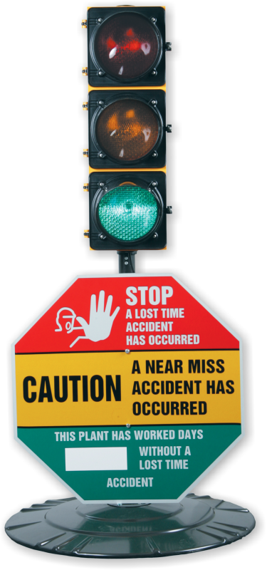 Signal Safety Awareness Center Stop A Lost Time Accident